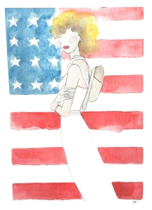 American Girl Media : Pencil & Watercolor