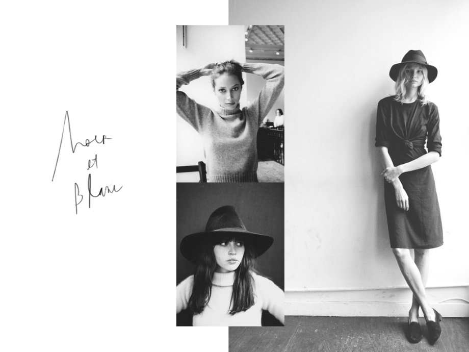 BW Photographs + Knitted Sweaters + Felicity Jones + Hats