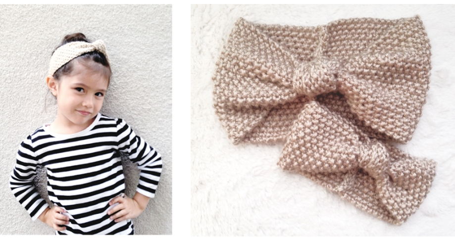 Matching Mother & Daughter Seed+Knot Turban